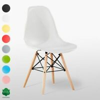 Moda Eiffel Chair Retro Vintage Style Lounge Dining Room Inspired Cafe Parlour
