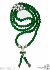 Green Jade w/ Tridacna Mala - Traditional 108 Count