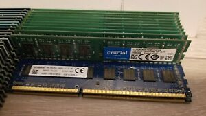 PC3 Memory DDR3 12800 8GB sticks desktop