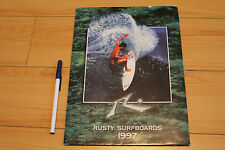 RUSTY and WAYNE LYNCH Surfboards PRESS KIT 14pc. - Australia 1997 Ad Price List