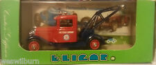 Elicor 1087 Ford V8 1934 Service Texaco 1:43 tow truck wrecker France new in box