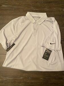 Nike Victory Golf Polo Dri-Fit Men's Gray/Black L (BV0356-100)