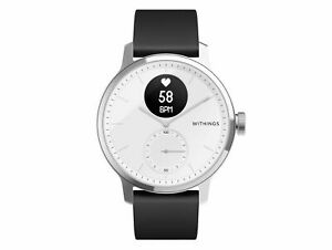 Withings ScanWatch Hybrid Smartwatch 42 mm White Genuine New