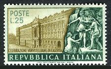 Italy 598, MNH.Palace of Caserta and Statuary,by Luigi Vanvitelli,architect,1952