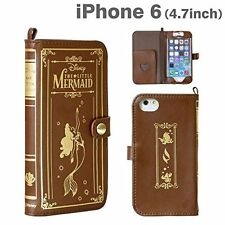 Disney iPhone6 (4.7) Leather Old Book Case The Little Mermaid / Ariel