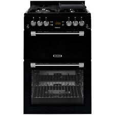 Leisure CK60GAK 60cm Double Oven Gas Cooker in Black