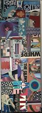 ORIGINAL MIXED MEDIA POP ART Charles R Jacobson (American 20th Century) SIGNED