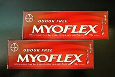 LOT OF 2 Myoflex® EXTRA STRENGTH Pain Relief Cream 100 Grms/ 4oz! Greasless