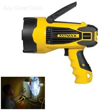 Stanley FatMax FLASHLIGHT, 10 Watt Lithium Ion Rechargeable LED SPOTLIGHT - NEW