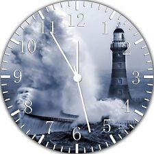 """Light House wall Clock 10"""" will be nice Gift and Room wall Decor W322"""