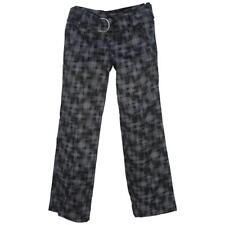 Oakley TOURNAMENT Womens Pant Size 14 AU 10 US Ladies Black Print Casual Pants