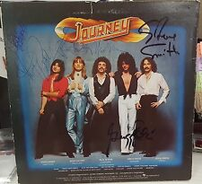 Awesome Journey Evolution SIGNED X5 AUTOGRAPHED Vinyl Record Album !!