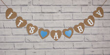 IT'S A BOY BABY SHOWER CHRISTENING PERSONALISED BUNTING NURSERY GARLAND BANNER