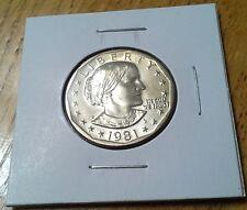 1981 D SBA Susan B. Anthony Dollar Coin Denver Uncirculated BU
