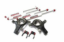 "SIERRA 1999-2006 LIFT KIT 3"" SPINDLES 2"" SHACKLES DOETSCH TECH NITRO SHOCKS 2WD"