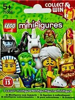 Lego 71008 SERIES 13 Minifigures Mini Figure - Sealed Pack Contains 1 Figure!