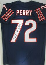 Chicago Bears WILLIAM PERRY Signed Custom Jersey AUTO - JSA COA