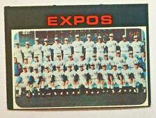 1971 Topps #674 Expos Team Card