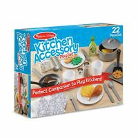 Melissa and Doug Kids Role Play Learning Toy Kitchen Accessory Set  3+ Years