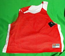 New Nike Men'S 399202 658 Red/White Mesh Activewear Reversible Tank Top L/Xl