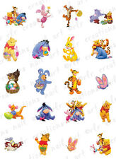 20 Easter Nail Decals * WINNIE THE POOH & FRIENDS* Water Slide Nail Art Decals