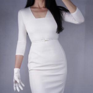 Stretchy Satin Silk Gloves Evening Wrist Long Short Wedding Bridal Ivory White