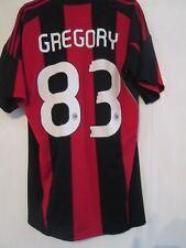 2010-2011 Gregory 83 AC MILAN CALCIO CASA Maglietta Adulto Medio (12639)