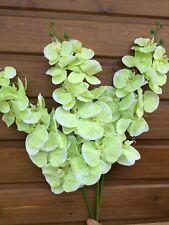 Orchidée Phalaenopsis géante fleur artificielle décoration mariage maison Vert .