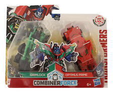 Hasbro Transformers Combiner Force Figuren Grimlock und Optimus Prime Primelock