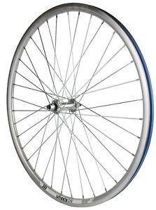 700c  wheelsON Front Wheel Mountain Bike/Hybrid Trekking Dutch Bike 36 H Silver