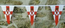 More details for northern ireland flag polyester bunting - various lengths