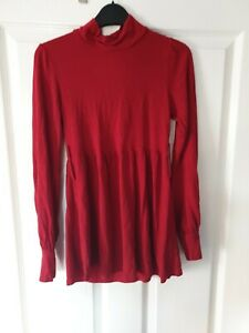Evie Collection Short Red Summer top Size 8 Great Condition!