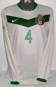 NIKE MEXICO AWAY WC2006 MARQUEZ LS LONG PLAYER MATCH M ORIGINAL JERSEY SHIRT