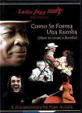 Como se Forma Una Rumba Fajardo,Chico O'Farrill y Otros  BRAND NEW  SEALED  DVD
