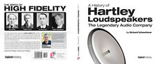 THE HISTORY OF HARTLEY LOUDSPEAKERS- Original Book--Limited Edition & Signed