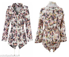 Brave Soul Polyester Casual Floral Coats & Jackets for Women