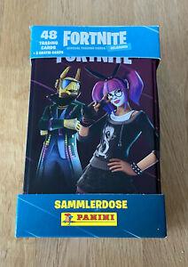 Panini Fortnite Serie 2 Trading Cards - Tin Box Sammeldose - NEU & OVP