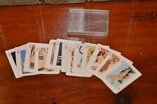 Vintage Naked Nude Women Mini Playing Cards Risque Novelty Suite of Hearts