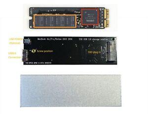 USB3.0 for Apple 2013 2014 or 2015 MacBook Air Pro Retina SSD case HDD Box JZLL