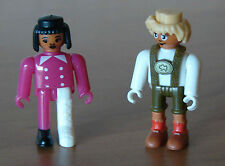 Playmobil?   2 Kinder Figuren Figur  Top Zustand Sind es Playmobil Figuren?
