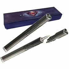 Black Superman Man of Steel Command Key Pen - Noble Boxed Official DC Comics