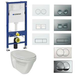 Geberit Duofix Vorwandelement Wand WC Flachspüler Ideal Standard Komplettset