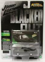 JOHNNY LIGHTNING 1:64 2018 Street Freaks # 3 W2/B 1970 PLYMOTH GTX BLACKED OUT
