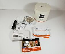 New Sony Cyber-shot DSC-QX10 18.2 MP Digital Camera - White