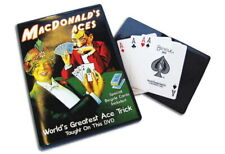 Magic Makers Dvd MacDonald's Aces Gerry Griffin Special Bicycle Cards