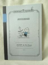 Del. Snoopy Peanuts B5 notebook  NEW Dance