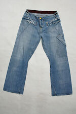 LEVIS 182 Vintage Relaxed Jeans Light Blue Denim Faded Straight Red Tab W32 L32