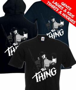 The Thing R.J MacReady Kurt Russell Movie T Shirt / Hoodie