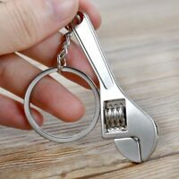 Adjustable Metal Tiny Wrench Spanner Tool Key Chain Ring Keyring Creative Gift