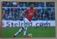 Anthony Martial Hand Signed 6x4 Photo Manchester United France Autograph + COA